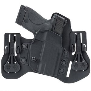 "BLACKHAWK! Tuckable IWB Holster S&W J Frame 2"" Right Leather/Polymer Black 422003BK-R"