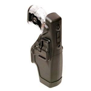 BLACKHAWK! Level 2 SERPA Duty Belt Holster Right Hand Taser X-26 Carbon Fiber Black