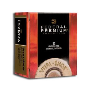 Federal .454 Casull 250 Grain Expander JHP 20 Round Box