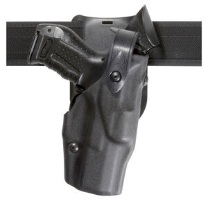 Safariland 6365 GLOCK 19 with X300 ALS/SLS Level III Duty Holster Right Hand STX Basketweave Black