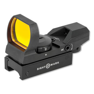 Sightmark Sure Shot Reflex Sight Illuminated Weaver Mount Matte Black SM13003B