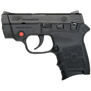 "S&W M&P Bodyguard 380 Crimson Trace Semi Auto Pistol 2.75"" Barrel 6 Rounds with Laser and Safety Black"