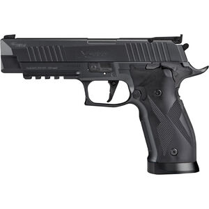 SIG Sauer X-Five ASP CO2 Semi Auto Air Pistol .177 Caliber Pellet 20 Rounds Metal Frame and Slide Black Finish