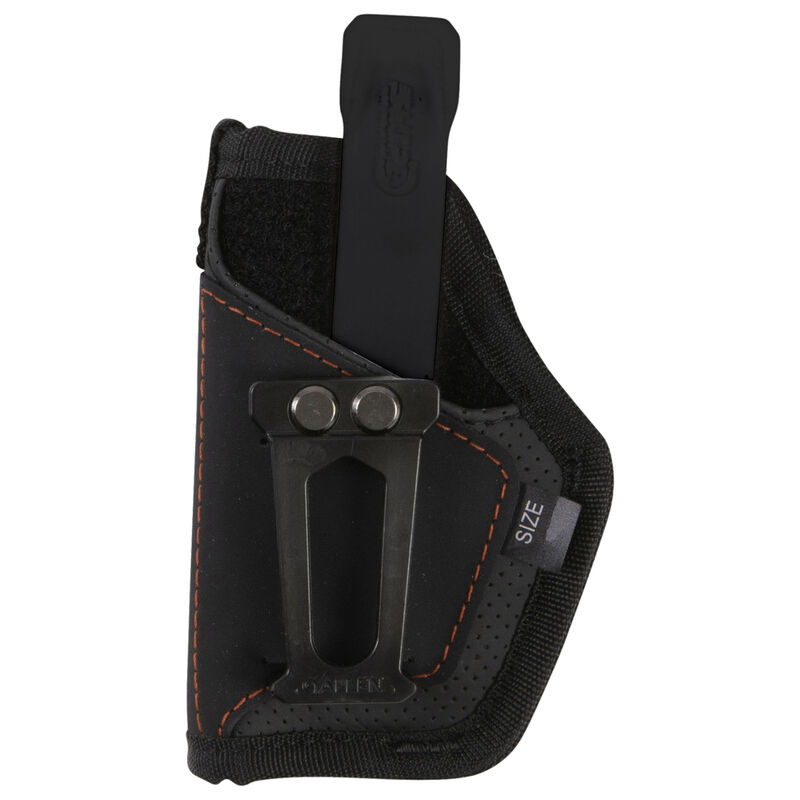 """Allen Swipe Switch Holster Fits Most 3.25""""-3.75"""" Compacts IWB/OWB Ambidextrous Hypalon Black"""