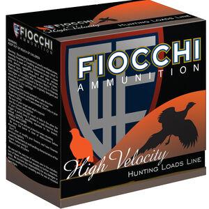 """Fiocchi High Velocity 12 Gauge Ammunition 2-3/4"""" #4 Shot 1-1/4 oz Lead 1330fps"""