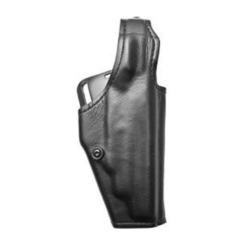 "Safariland Model 200 ""Top Gun"" Level I Retention Mid-Ride Holster Glock 17/22 w/Insight M3 Light 1.5"" Belt Loop Right Hand Plain Black 200-83-161"