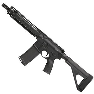 "Daniel Defense MK18 AR-15 5.56 NATO Semi Auto Pistol 10.3"" Barrel 32 Round Magazine DD MK18 RIS II Hand Guard SB-Tactical SOB Pistol Stabilizing Brace Black Finish"