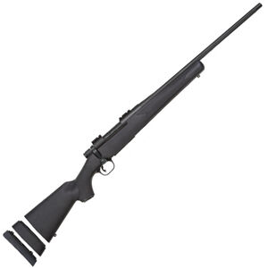 "Mossberg Patriot Youth Bolt Action Rifle .308 Winchester 20"" Barrel 5 Rounds Synthetic Bantam Stock Matte Blue Finish 27865"