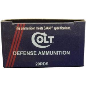 Colt Defense .300 Blackout Ammunition 20 Rounds Bonded SP 125 Grains