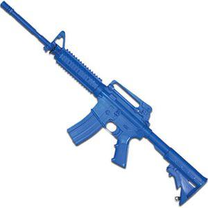 Rings Manufacturing BLUEGUNS M4 Open Stock Forward Rail Rifle Carbine Replica Training Aid Blue FSM4R