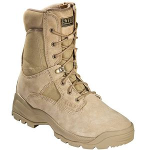 "5.11 Tactical A.T.A.C. Boot 8"" with Side Zipper 12W Coyote"