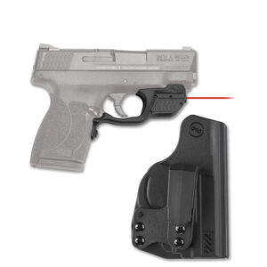Crimson Trace LG-485-HBT Red Laser Guard with Blade-Tech Holster For S&W M&P Shield .45 ACP Right Hand Draw Matte Black