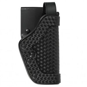 Uncle Mike's PRO-3 GLOCK 17, 19, 22, 23, 31 Duty Holster Right Hand Size 21 Mirage Basketweave Black 35215