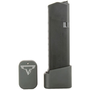 Taran Tactical Innovations +4/+5 GLOCK 19/23 Firepower Base Pad Kit OD Green