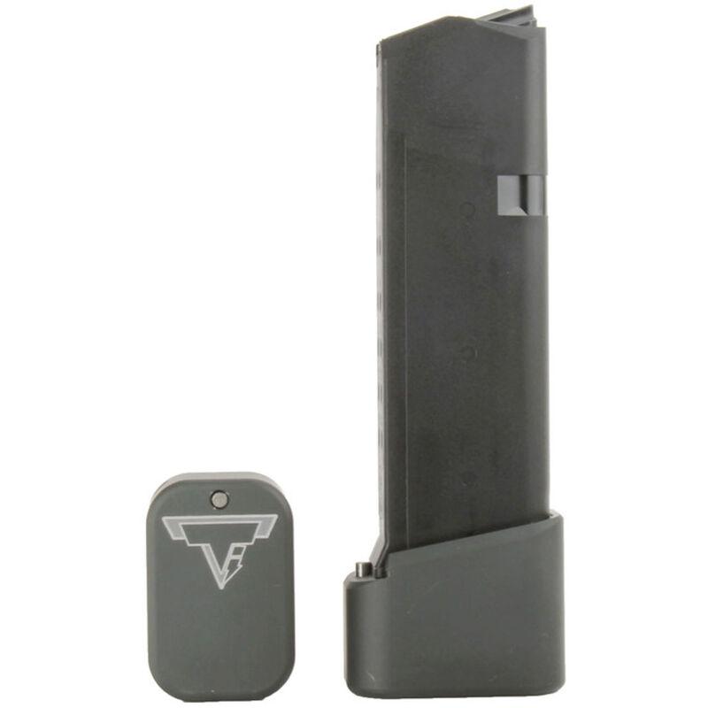 Taran Tactical Innovations +4/+5 GLOCK 19/23 Firepower Base Pad Kit OD Green