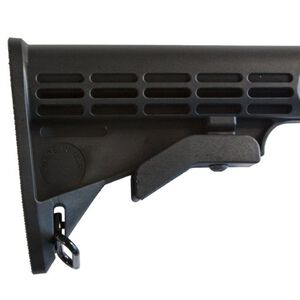 JE Machine Mil-Spec Adjustable Pinned Stock Black