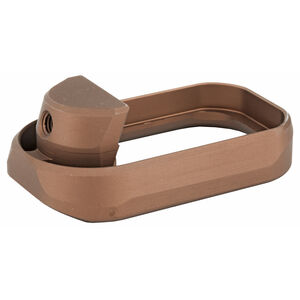 Taran Tactical Innovations Carry Magazine Well Enhancement GLOCK 17/22/31 Gen 3 Aluminum Coyote Bronze Finish