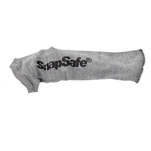 "SnapSafe Silicone Knit Handgun Sock 8"" Barrel Silicone Treated Grey 75890"