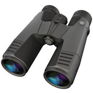 SIG Sauer Zulu9 11x45 Full Size Binoculars Abbe-Koenig Prism System HDX Optical Design Multi-Position Twist Eyecups IPX-7 Waterproof/Fogproof Non-Slip Grip Coating Rubber Armor Graphite/Black Finish SOZ99002