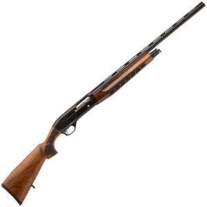 "TR Silver Eagle Kinetic 12 Semi Auto Shotgun 12 Gauge 28"" Barrel 3"" Chamber 4 Rounds Walnut Stock Black Finish"