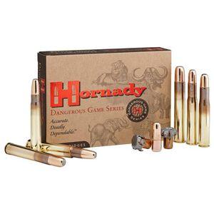 Hornady Dangerous Game .416 Ruger Ammunition 20 Rounds 400 Grain DGX Bonded Projectile 2400fps