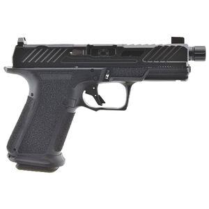 "Shadow Systems MR920 Elite 9mm Luger Semi Automatic Pistol 4.5"" Barrel 15 Rounds Optic Cut Slide Tritium Night Sights Polymer Frame Black Finish"