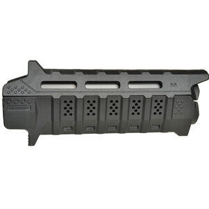 Strike Industries Carbine Length Black M-LOK Handguard With Black Heat Shield SI-STRIKE-HG-CBK-BK