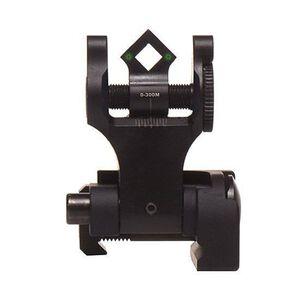Troy BattleSight Rear Tritium Di-Optic Aperture (DOA) Folding Sight Black SSIG-FBS-TTBT-00