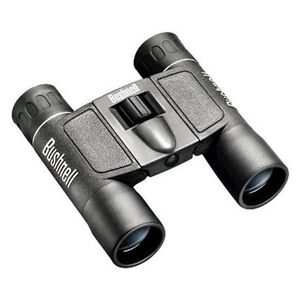 Bushnell Powerview 10x25 Compact Binoculars BK7 Roof Prism Rubber Armor Black 132516