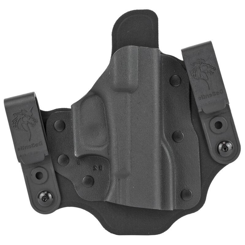 DeSantis Invader Tuckable IWB Holster Fits GLOCK 43/43X Right Hand Nylon/Kydex Black