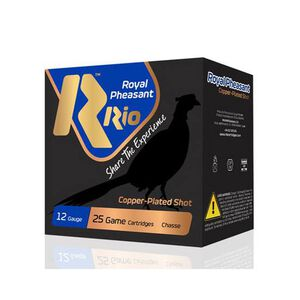 "RIO Ammo Royal Pheasant Copper 12 Gauge Shot Shells 250 Rounds 2 3/4"" 1 oz #5 Shot"
