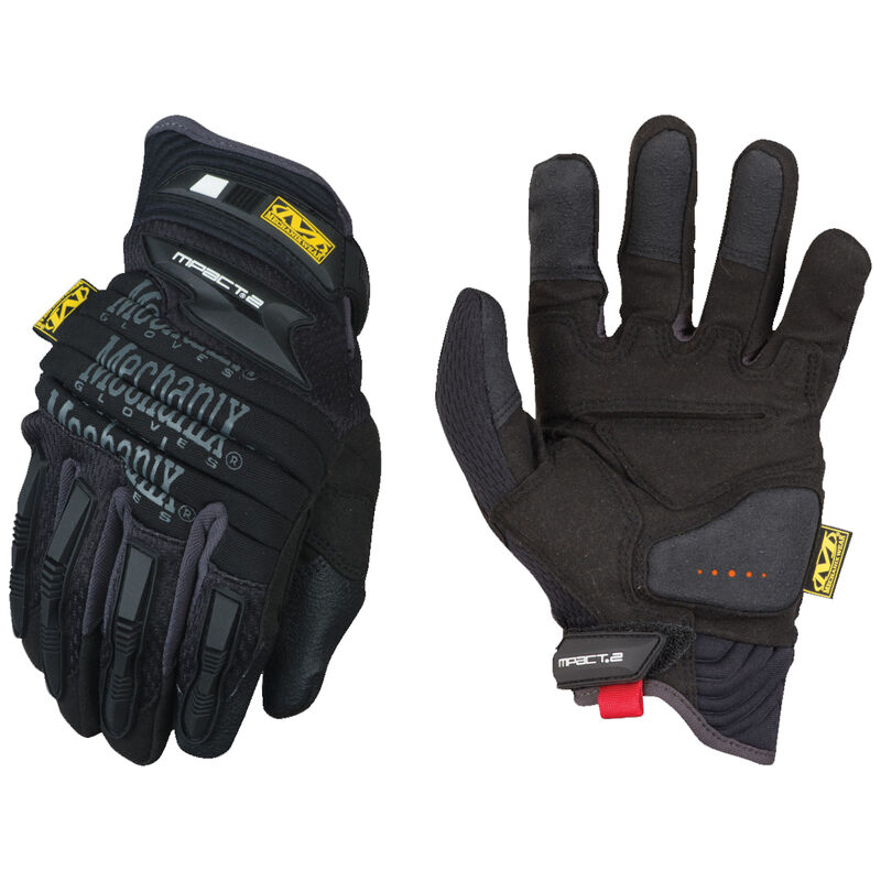 Mechanix Wear M-Pact 2 Gloves Size Small Synthetic Black