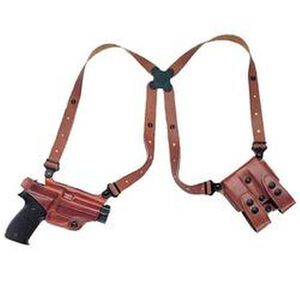 Galco Miami Classic Walther PPK/S Shoulder Holster System Right Hand Leather Tan MC204
