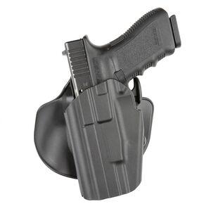 Safariland 578 GLS Pro-Fit Wide Long Holster w/ Paddle, Left Hand Belt Carry, Black