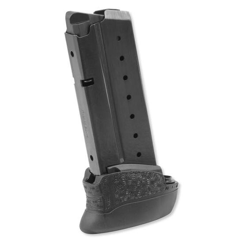Walther, PPS M2 Magazine, 8 Rounds, 9mm Luger, Steel, Black