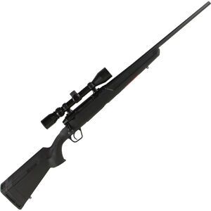 "Savage Axis XP Bolt Action Rifle .22-250 Remington 22"" Barrel 4 Rounds Detachable Box Magazine Weaver 3-9x40 Riflescope Synthetic Stock Matte Black Finish"
