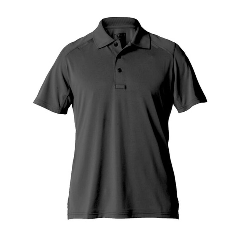 5.11 Tactical Women's Helios Jersey Polo Charcoal Medium