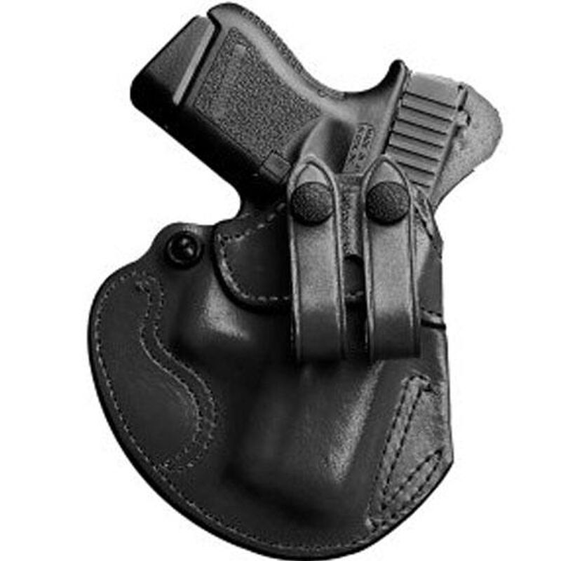 DeSantis Cozy Partner Walther PPS Inside Waistband Holster Left Hand Leather Black 028BAX7Z0
