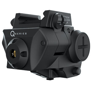 iPROTEC SC-R Red Laser fits Most Compact and Subcompact Pistols with rails Black