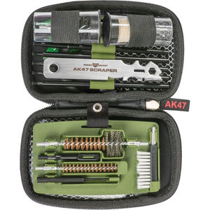 Real Avid Gun Boss AK47 Cleaning Kit with Carbon Scraper Molded Nylon Case