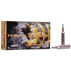 Federal Premium Terminal Ascent 7mm Rem Mag Ammunition 20 Round Box 155 Grain Terminal Ascent Projectile 3000fps