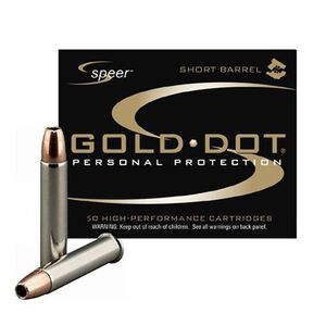 Speer Gold Dot .22 Magnum Ammunition 50 Rounds JHP 40 Grain 1,050 Feet Per Second