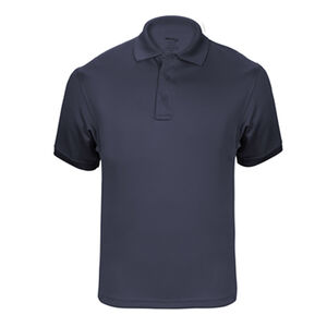 Elbeco UFX Tactical Polo Men's Short Sleeve Polo Large 100% Polyester Swiss Pique Knit Midnight Navy