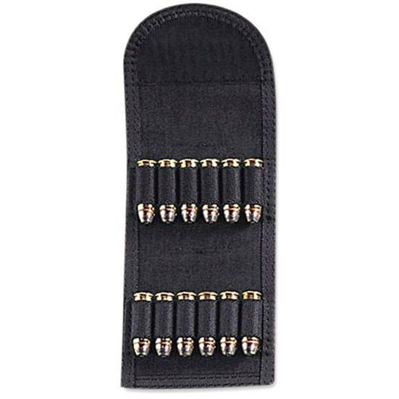 Uncle Mike's Folding Handgun Cartridge Carrier 12 Rounds Nylon Black 88441