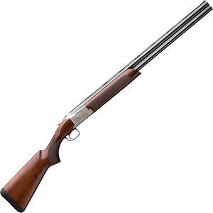 "Browning Citori 725 Field 12 Gauge O/U Break Action Shotgun 26"" Barrels 3"" Chambers 2 Rounds Walnut Stock Engraved Receiver Silver/Blued Finish"