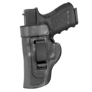 Don Hume H715M S&W M&P Shield Clip On Inside the Pant Holster Left Hand Black Leather J167200L