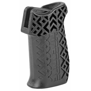 Hiperfire HIPERGRIP with Smooth Texture  AR-15 Pistol Grip Matte Black Finish