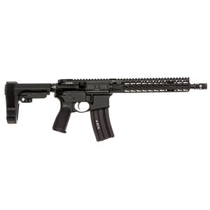 "BCM Recce-11 KMR-A AR-15 5.56 NATO Semi Auto Pistol 11.5"" Barrel 30 Round Magazine KMR-A10 Free Float Hand Guard SBA3 Pistol Stabilizing Brace Matte Black"