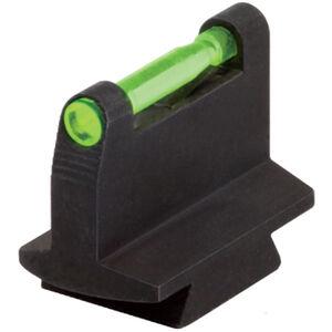 """HiViz DVOM Standard 3/8"""" Dovetail Rifle Fiber Optic Front Sight Red/Green/White Steel Black DOVM-500"""