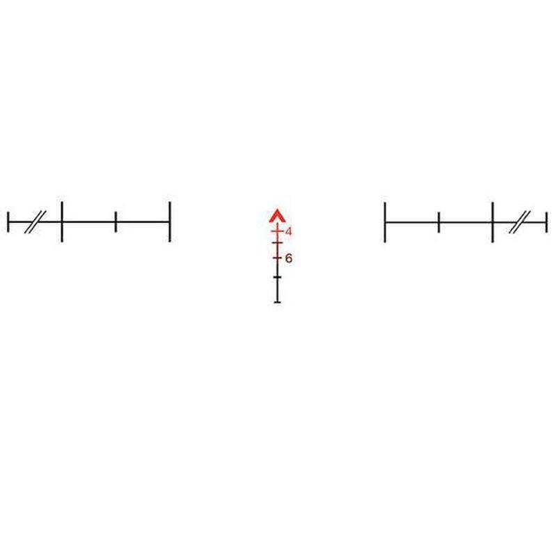 Trijicon ACOG 4x32 USMC RCO Scope Dual Illuminated Red Chevron Reticle With TA51 Flattop Mount